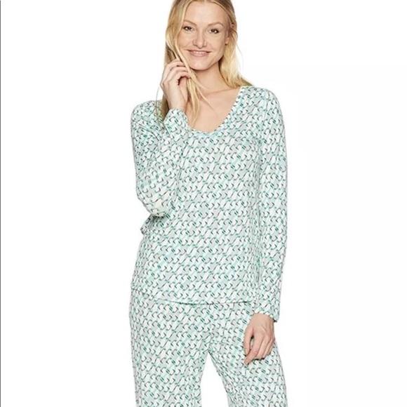 Hue Intimates Sleepwear Plus Size Pajama Set With Socks Xl